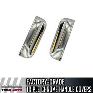 2005 2012 Nissan Xterra Chrome Door Handle Covers (Rear Door Handles
