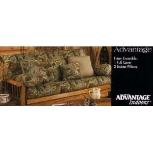 3 Piece Camouflage Futon Ensemble (Advantage MAX 4