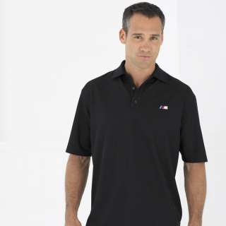 100% AUTHENTIC BMW M PERFORMANCE POLO SHIRT BLACK
