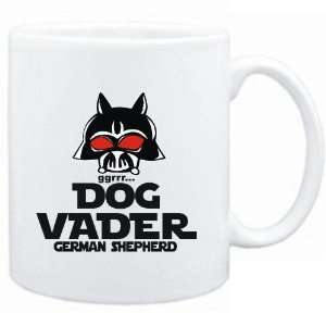 Mug White  DOG VADER  German Shepherd  Dogs
