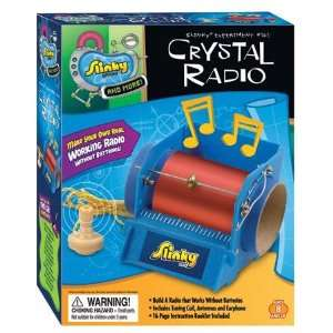 Poof Slinky 02012 Crystal Radio Kit