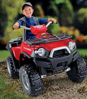 Power Wheels Fisher Price Kawasaki Red Brute Force ATV   Power Wheels