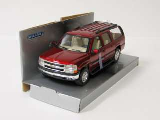 2001 Chevrolet Suburban Diecast Model Car   Truck  124 Scale   Welly