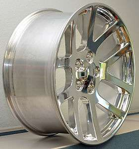 22 22x10 SRT10 Dodge Ram Dakota Durango Wheel Rim Polished (OEM