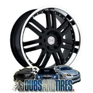 22 Inch 22x9.5 Black Rhino wheels Serengeti Black Machined
