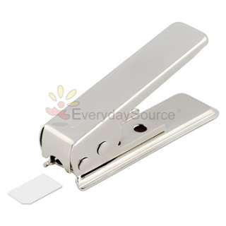 Micro Sim Card Cutter+4 Sim Adapter for iPhone 4 4G 4th