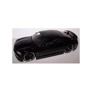 Scale Diecast Big Time Muscle 2006 Dodge Charger Srt8 in Color Black
