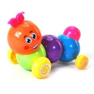 educational toys cute baby clockwork colorful caterpillar