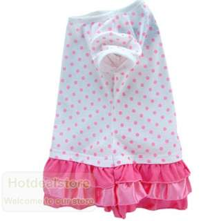 Sweet Girls Pink Dot Tiered Dress 2 7yrs 75047