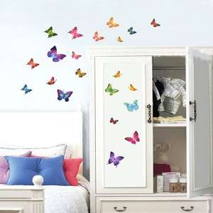 Butterfly Removable WALL DECAL STICKERS