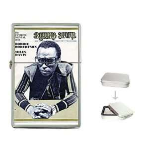 Miles Davis Rolling Stone Cover 1969 Flip Top Lighter