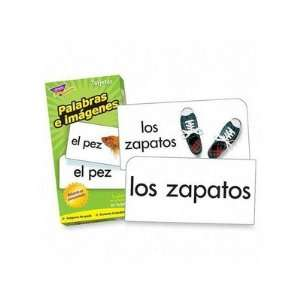Flash Cards, Spanish, Picture Words, 96/BX   CARD,FLASH,SPANISH
