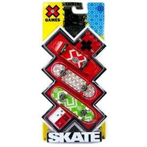 Games Extreme Sports Skateboard 3 Pack X Games Logo Toys & Games