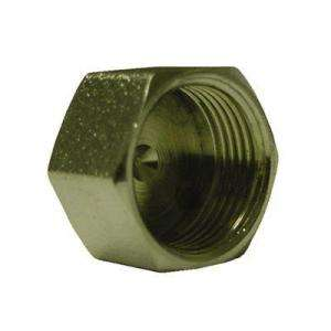 Watts 1/2 in. Brass Compression Tube Cap A 205