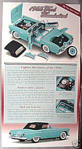 Danbury Mint 1955 Ford Thunderbird Sales Brochure