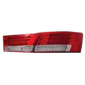 Anzo USA 321068 Hyundai Red/Clear LED Tail Light Assembly   (Sold in