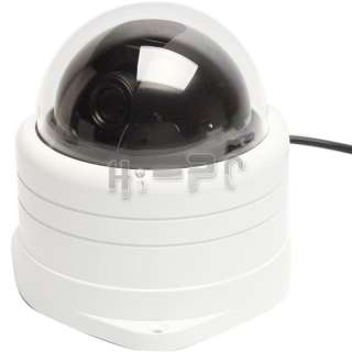 540TVL Sony CCD Vandalproof Dome Pan/Tilt Zoom PTZ Camera 5 15mm lens