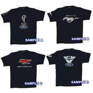 NEW MUSTANG FORD CAR SHELBY COBRA T SHIRT Size S 3XL