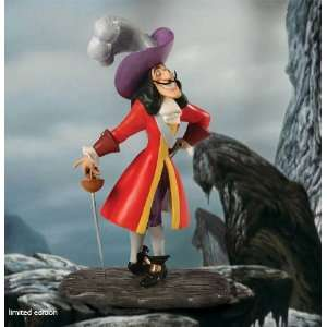 WDCC Disney Peter Pan Captain Hook Limited Edition 2012