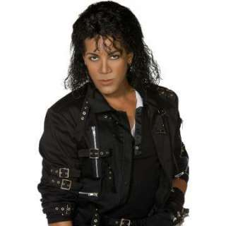 Michael Jackson Long Wig Adult   Includes Wig. Does not include