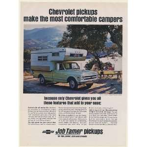 1968 Chevy 3/4 Ton Custom Camper Fleetside Pickup Truck Most