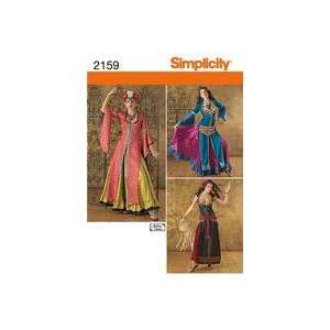 Simplicity Sewing Pattern 2159 Misses Costumes, Size R5