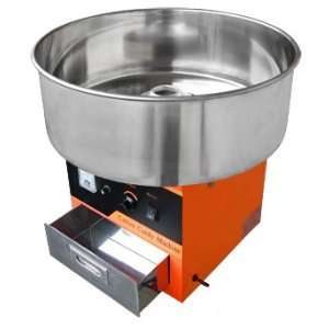 750 1000W Commercial Cotton Candy Machine Orange