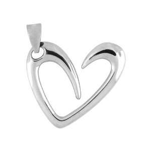 Stainless Steel Hearts Inox Jewelry Pendants 316L Jewelry