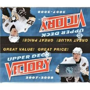 2007/08 Upper Deck Victory Hockey Box Sports Collectibles