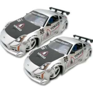 64 Scale Nissan 350Z Diecast Model Car Candy Silver Toys & Games