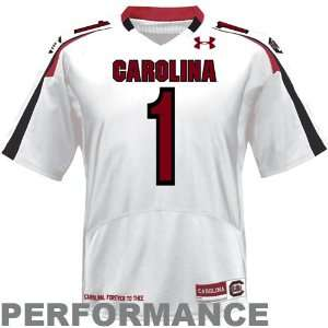 Under Armour South Carolina Gamecocks #1 Replica Football Jersey