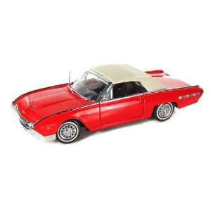 1962 Ford Thunderbird Sports Roadster 1/18 Red Toys
