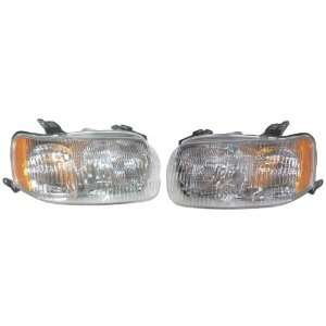 Escape Headlights Headlamps Head Lights Lamps Pair Set Automotive