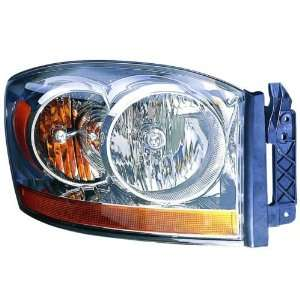 Replacement Headlight Assembly (without Black Bezel)   Passenger Side
