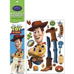 Party By Hallmark Disney Toy Story Woody Removable Wall Decorations
