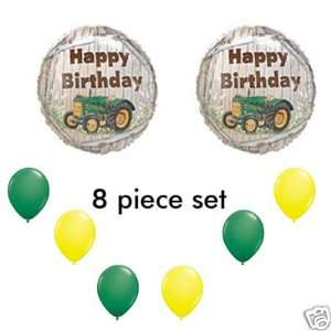 John Deere LIKE Farm tractor Birthday Party Balloons Decorations