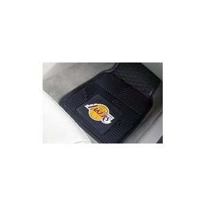 Los Angeles Lakers Heavy Duty 2 Piece Vinyl Car Mats 18