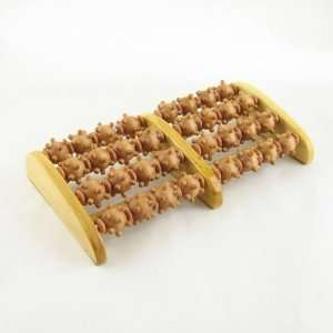 8 Roller Wooden Foot Massager