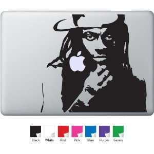 Lil Wayne Decal for Macbook, Air, Pro or Ipad
