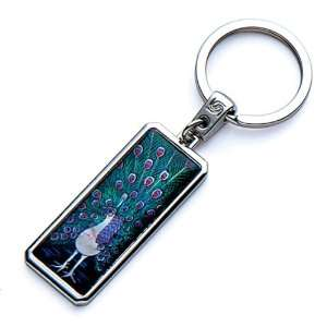 Handmade Craft Luxury Novelty Cool Metal Keychain Key Ring Fob Holder