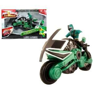Bandai Year 2011 Power Rangers Samurai Series Action Figure Vehicle
