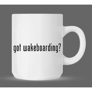 got wakeboarding?   Funny Humor Ceramic 11oz Coffee Mug Cup