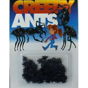 Set of 12 Creepy Fake Ants  Toys & Games