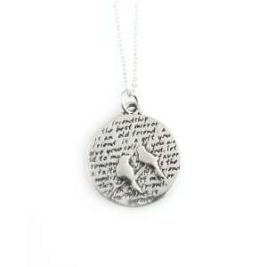 Kevin N Anna Birds / Friendship Sterling Silver Necklace