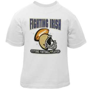 adidas Notre Dame Fighting Irish White Infant Future Football Player T