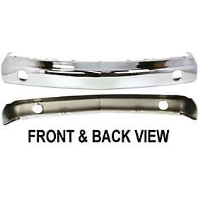 New Front Bumper Chrome Chevy Truck Suburban Chevrolet R3500 91 90 89