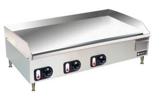 Vollrath 40717 36 Commercial Electric Griddle NEW NSF