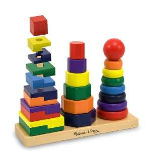 Melissa & Doug Geometric Stacker Toys & Games
