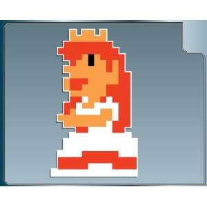 PRINCESS PEACH 8 bit from Super Mario Bros. vinyl decal sticker