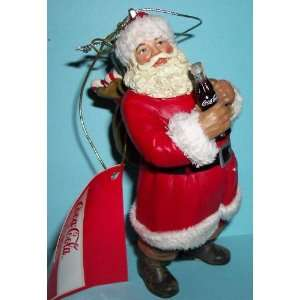 Kurt Adler Coca Cola Ornament   Santa Claus